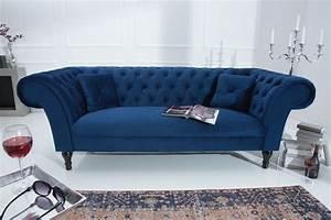 Chesterfield Sofa Samt : 3 sitzer sofa riess ~ Whattoseeinmadrid.com Haus und Dekorationen
