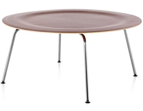 Eames® Molded Plywood Coffee Table With Metal Base   hivemodern.com