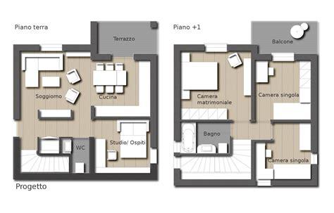 Progetto Interni Casa by Progetto Casa Unifamiliare Su Un Piano