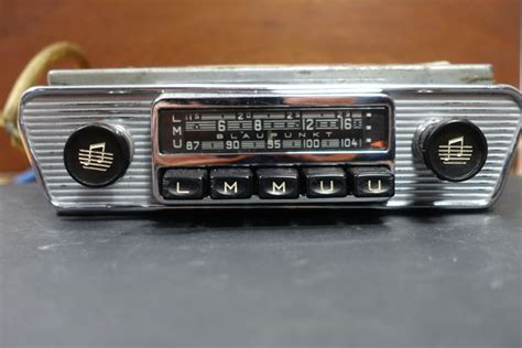 Blaupunkt Frankfurt Classic Car Radio For Jaguar E-type