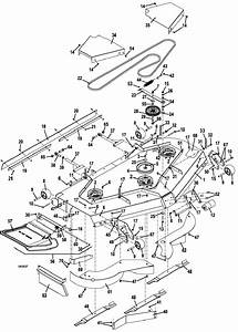 The Mower Shop  Inc 329b 2015 Deck Assembly 72 Inch