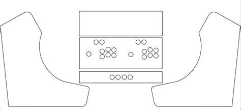 arcade template download bartop arcade cabinet template cabinets matttroy