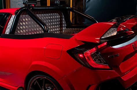 Honda Civic Type R Pickup Truck Concept Revealed