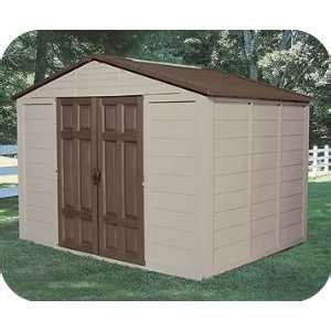 Suncast Brookland 7x7 Shed by Suncast Brookland 10 Ft 8 In X 7 Ft 6 In Resin Storage