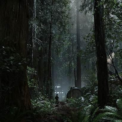 Endor Night Environment Buddy Wars Star Battlefront