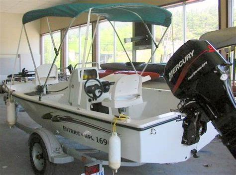 Custom Boat Covers Parry Sound by 2004 Custom Built Patriot 1690 Fishing Boat For Sale From