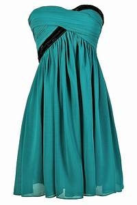 Turquoise and Black Dress, Teal and Black Dress, Turquoise ...