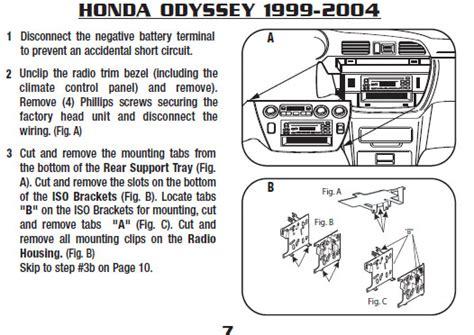 free download parts manuals 2001 honda odyssey instrument cluster 2000 honda odysseyinstallation instructions