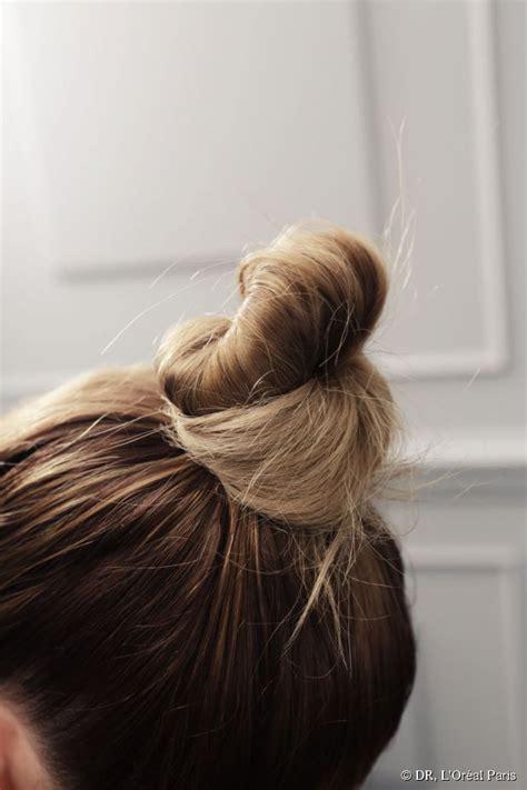 bun  topknot   perfect updo  ombre hair
