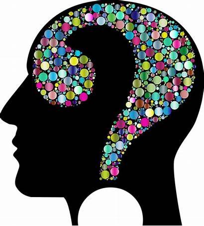 Brain Clipart Question Colorful Head Know Still