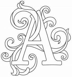 letter perfect alphabet gorgeous letters all different With embroidery stencils of letters