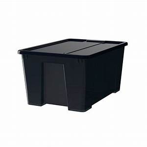 Samla Box Ikea : box with lid clear 22 x15 x11 12 gallon ikea ikea samla box with lid ~ Watch28wear.com Haus und Dekorationen