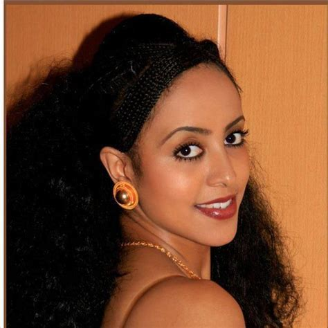 Eritrean traditional hair braiding and gold jewelry! I