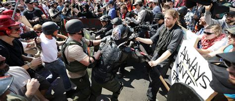 man  drove  crowd  protesters  virginia claims
