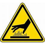 Label Warning Surface Hazard Iso Symbol Safety