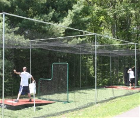 deck batting cages lbi batting cage kits replacement nets promounds