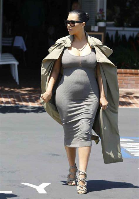 Kim Kardashian Street Fashion – Shopping in West Hollywood ...
