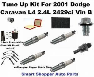 Details About Tune Up Kit For 2001 Dodge Caravan L4 2 4l