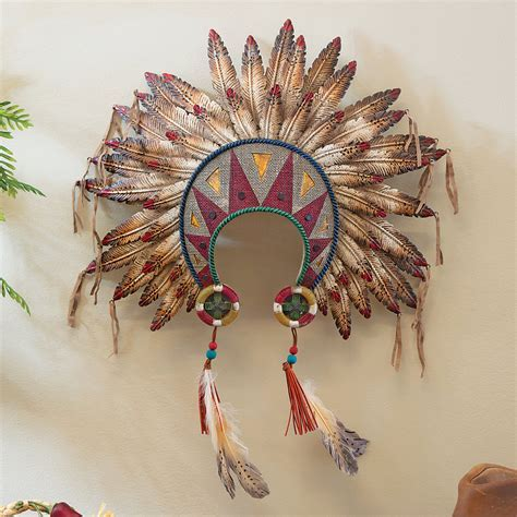 Feathered Headdress Wall Art