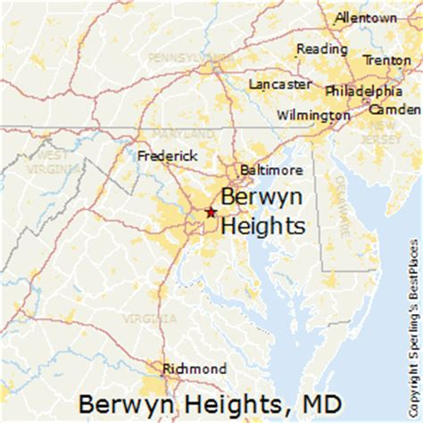 places    berwyn heights maryland