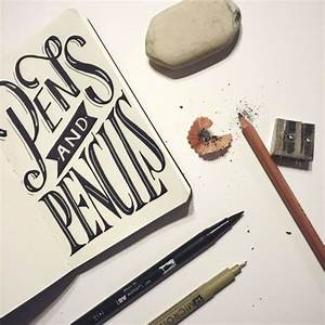 hand lettering for beginners a guide to getting started With hand lettering pens for beginners
