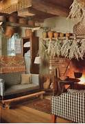36 Stylish Primitive Home Decorating Ideas Decoholic Room Curtains Living Rooms Primitive Living Room Decorating Ideas In The Surprising Decorative Trees Ideas Futuristic Kitch Loversiq Cabin Living Room Living Rooms Primitive Living Room Decorating Ideas