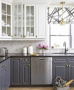 best 25 kitchen backsplash ideas on pinterest With kitchen cabinet trends 2018 combined with wall art for grey walls