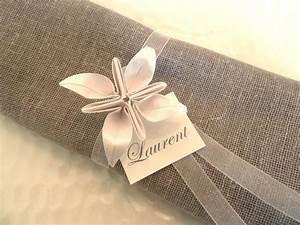 Serviette De Table Blanche : 17 best images about pliage serviette on pinterest napkin folding chemises and babyshower ~ Teatrodelosmanantiales.com Idées de Décoration