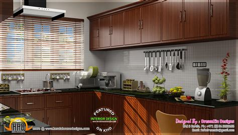 kerala kitchen design pictures kitchen interior dining area design kerala home design 4932