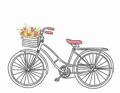 Clipart Bicycle Bike Clip Romantic Bikes Paris