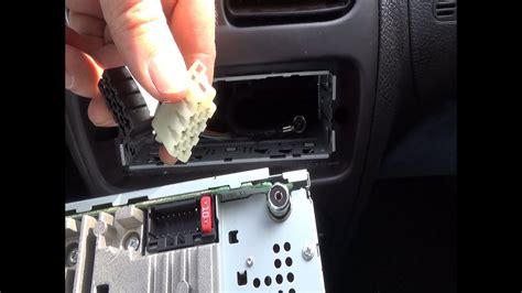 cambio de una radio de coche original por una radio