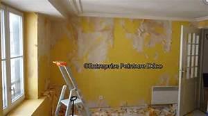 peindre papier peint vinyl expanse intisse mur deja le With peindre un mur deja peint