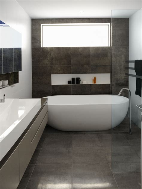 26 Popular Small Bathroom Grey Tiles Eyagcicom