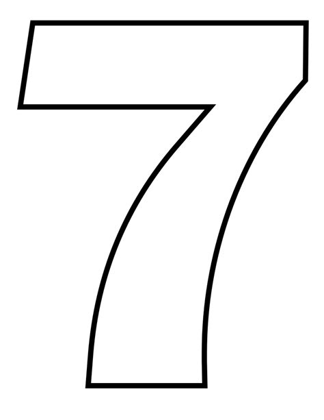 Fileclassic Alphabet Numbers 7 At Coloringpagesforkids