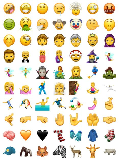 New Emojis Coming To Iphone And Ipad This June