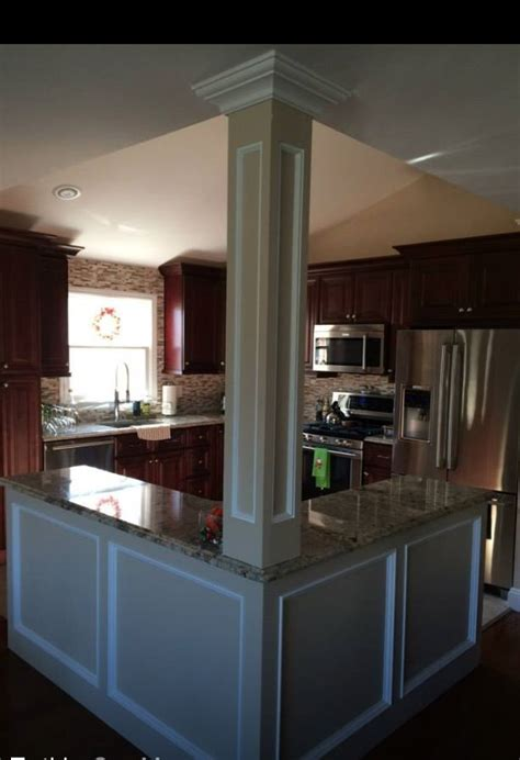Sealight Floor L Knock open floor plan kitchen knock walls l shaped island