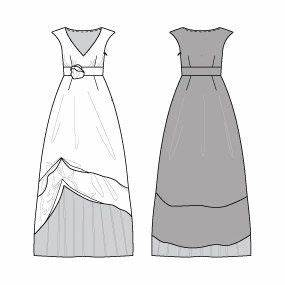 17 best images about burda patterns on pinterest sewing With prom dress templates