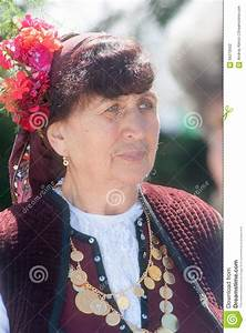 Holiday Decorations Bulgarian Women Editorial Photography ...
