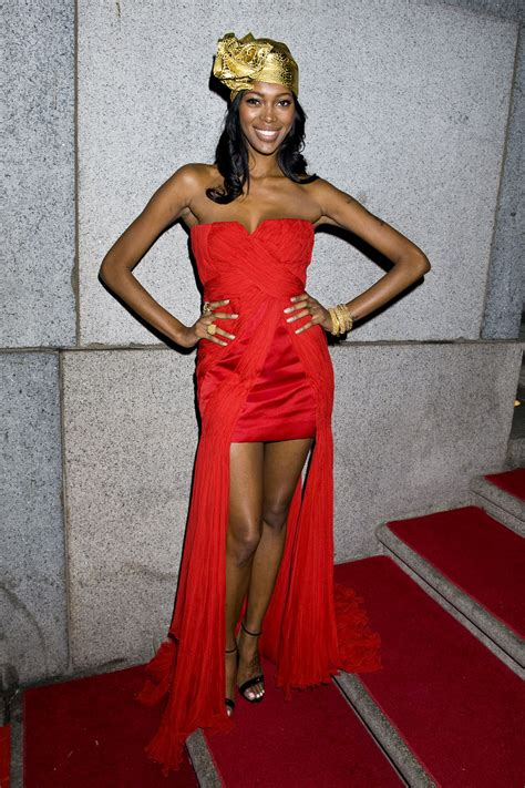 jessica white  amfar  york gala  kick  fall
