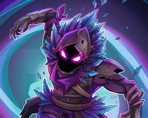 Download 1280x1024 Wallpaper Raven, Fortnite Battle Royale, Creature, Game, Standard 5