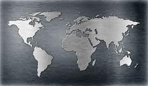 Carte Du Monde Metal : carte du monde sur la plaque de m tal illustration stock image 48924802 ~ Teatrodelosmanantiales.com Idées de Décoration