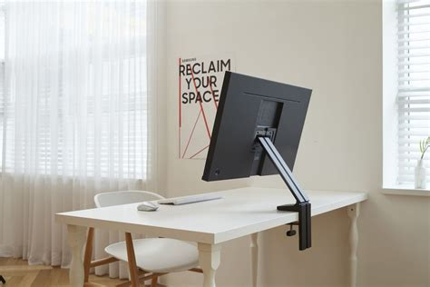 Where Can I Buy A Computer Desk Near Me by Samsung S New Space Saving Monitors Can Fold Flat Against