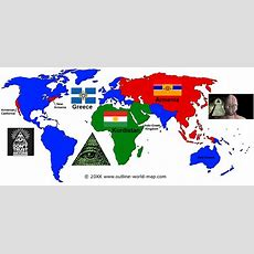 Secret Illuminati Map Of The New World Order  The Map They Don't Want You To See