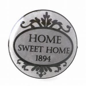 Bouton De Meuble Vintage : bouton de meuble home sweet home vintage ~ Melissatoandfro.com Idées de Décoration