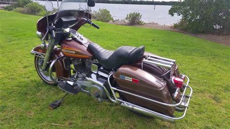 1976 Harley Davidson Flh by 1976 Harley Flh Brown
