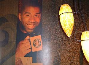 Earvin  U0026quot Magic U0026quot  Johnson Shocks Fans  Retires From Starbucks