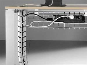 Passe Cable Plan De Travail : postes de travail oxi i ~ Nature-et-papiers.com Idées de Décoration