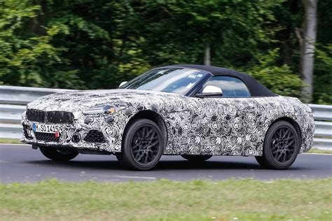2018 Bmw Z5 M40i First Spy Shots At The Nurburgring