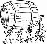 Barril Desenho Colorir Coloring Barrel Kreativer Pflanztopf Bit Wie Te Bier Maus Vorlagen Zurueck Zu sketch template