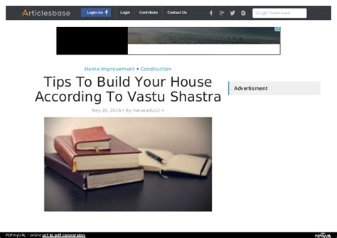 Tips To Build Your House According To Vastu Shastra